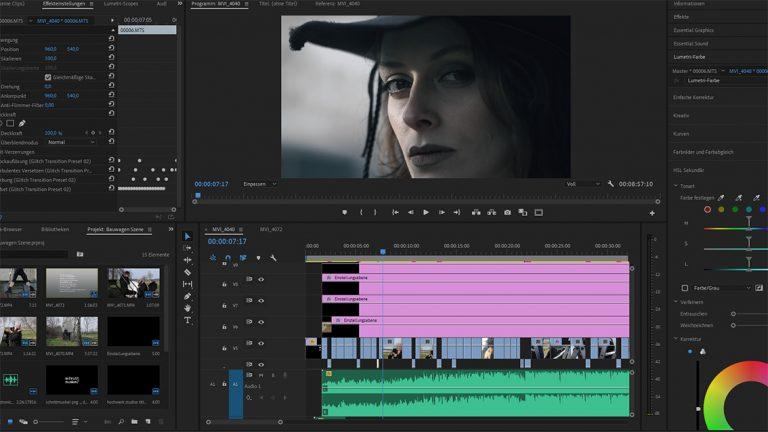 HOCH WERK STUDIOS Foto Film Agentur Karlsruhe Stuttgart Filmschnitt Video Editing Schnittmuskel