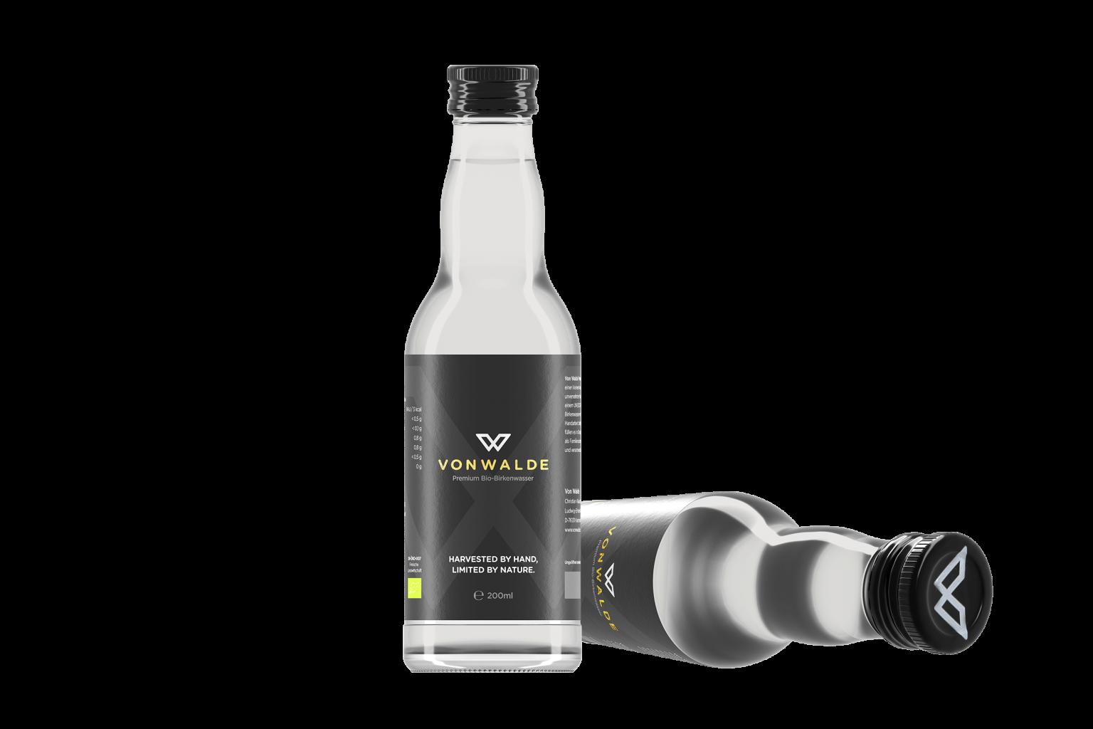 HOCH WERK STUDIOS Foto Film Agentur Karlsruhe Stuttgart vonwalde Produktaufnahme Birkenwasser Flasche